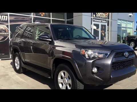 2016|Toyota 4Runner SR5| Leather|Low KM|Sunroof|Capital Jeep | Edmonton