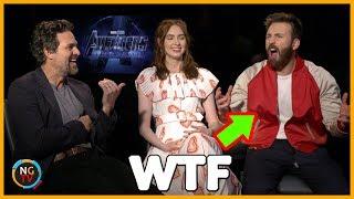 Avengers Endgame Entrevista con Chris Evans, Mark Ruffalo y Karen Gillan