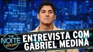 The Noite (27/07/15) - Entrevista com Gabriel Medina