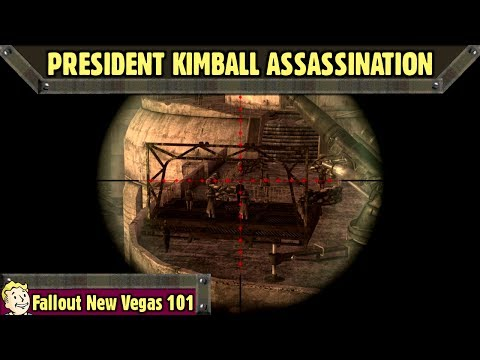 Fallout New Vegas 101 : [Main Quest] - President Kimball Assassination Attempt