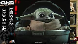 The Mandalorian Hot Toys The Child AKA Baby Yoda Life Size Figure Reveal!