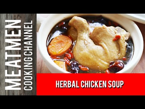 Herbal Chicken Soup - 药材鸡汤