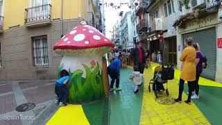 Погода Аликанте +22°,TimeLapse, 4К, timewarp gopro7, Alicante, Испания 06.12. 2018,  SpainTur