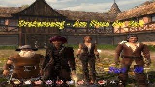 Lets play Drakensang - Am Fluss der Zeit Part 10 - Die nächtliche Mission geht weiter....