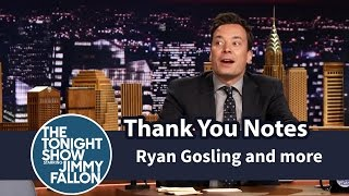 Thank You Notes: Ryan Gosling and Eva Mendes, Geysers, Boyz II Men