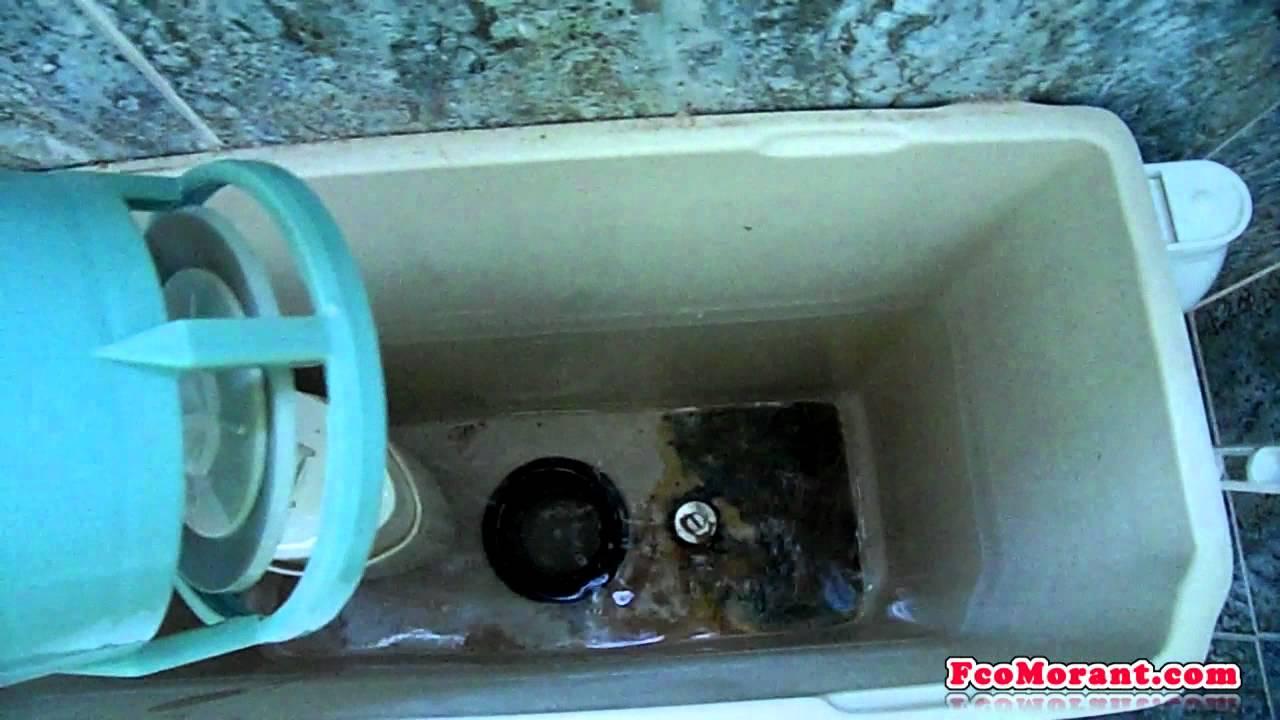 Reparando la cisterna del inodoro youtube for Cisterna vater