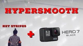 Hey Stripes! The Micd Up GoPro Hockey Ref - Game 227 - Hypersmooth! The new GoPro Hero 7 Black