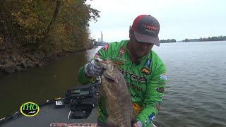 Giant Smallmouth and Largemouth in the Fall on the Tennessee River System