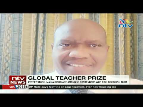 Two Kenyan teachers shortlisted for Global Teacher Prize award