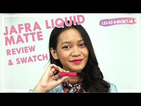 review-jafra-liquid-matte-lipstick-|-swatch-warna-pink-neon-di-kulit-sawo-matang