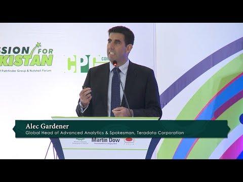 Talk by  Teradata's  Global Head of Advanced Analytics, Alec Gardener@LEADERS IN ISLAMABAD