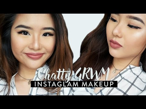 Chatty GRWM | Instaglam Makeup (Kylie Jenner Inspired + Baking!)