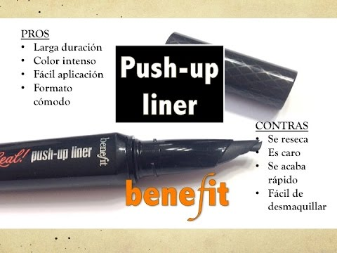 Review push up liner Benefit + noticias