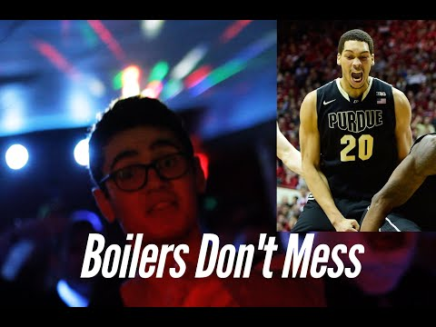 Boilers Dont Mess (Comedic Purdue Rap Video)