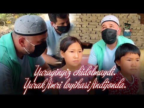 Yuragingiz Chidolmaydi. Yurak Amri Loyihasi Andijonda.