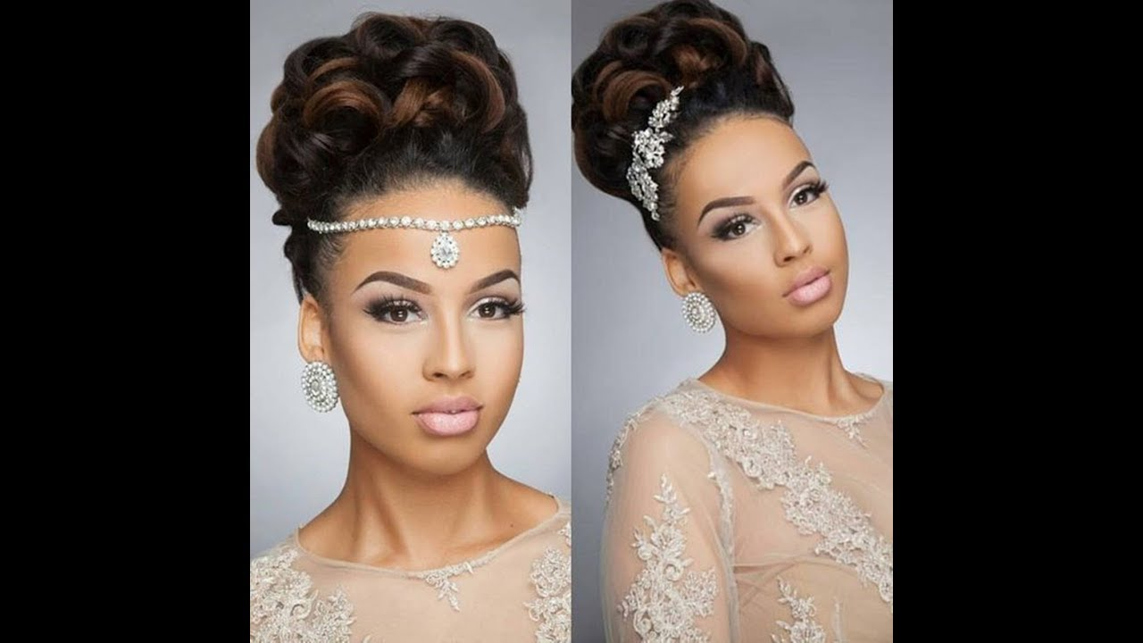 25 beautiful wedding hairstyles for black women to feel special !