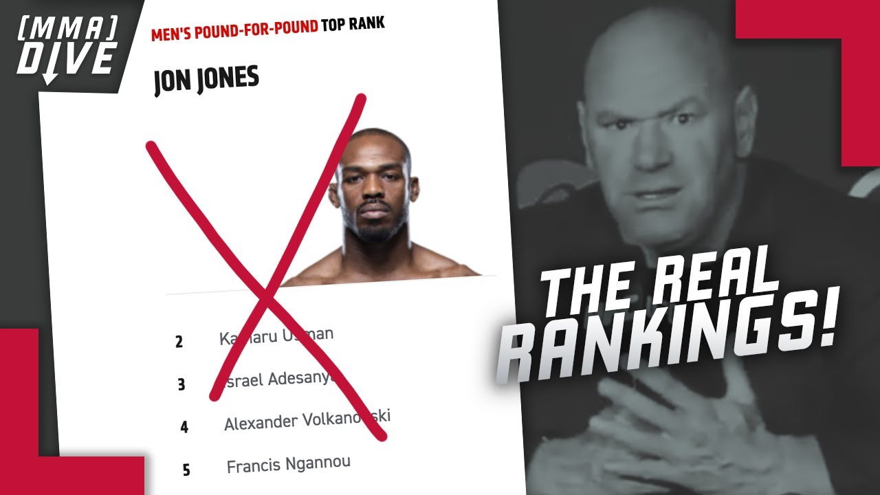 Our Alternative UFC Pound For Pound Top-15