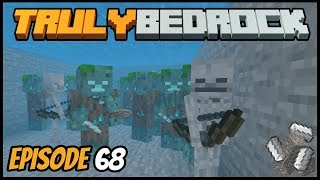 Iron Contest And Lag Fixing! - Truly Bedrock (Minecraft Survival Let's Play) Episode 68