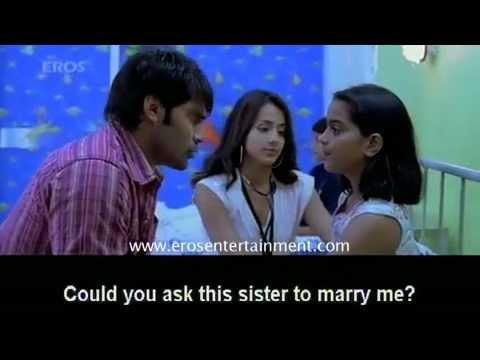 Trisha's sarvam Cute scene...