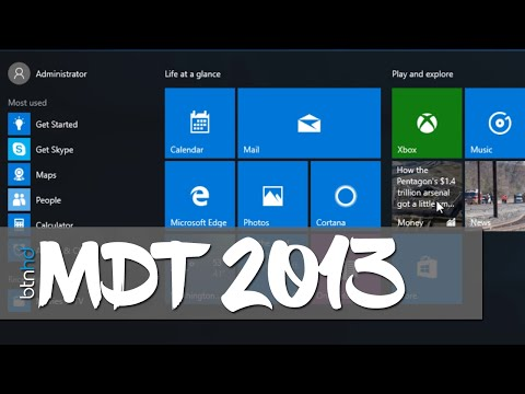 Deploy a Customized Windows 10 Start Menu with MDT 2013!
