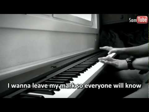 Beyonce - I Was Here (Piano + Lyrics)