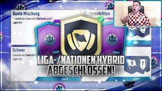 FIFA 19: LIGA NATIONEN HYBRID SBC *GÜNSTIG* abgeschlossen🔥✅HEFTIGE PACKS!