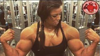 上腕を鍛えすぎた女性のヤバすぎる肉体! Sophie Arvebrink【筋トレ】