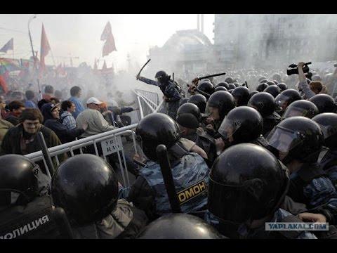 Кровавый марш миллиона - драка за честь и гражданскую совесть!