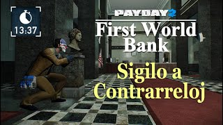 "Payday 2: First World Bank, Solo Stealth, Death Wish ""Logro 1337"""