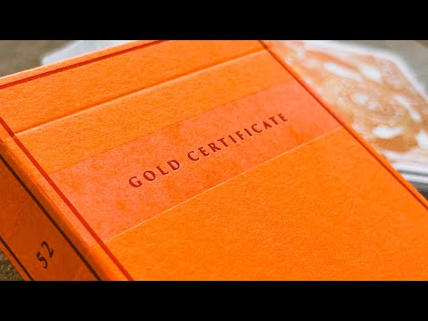 Gold Certificate - March Kings Wild Shorts - Deck Review!