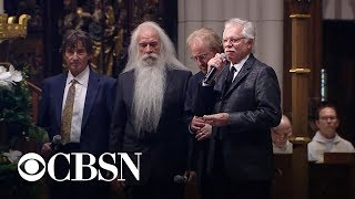 "Oak Ridge Boys sing ""Amazing Grace"" at former president George H.W. Bush's funeral"