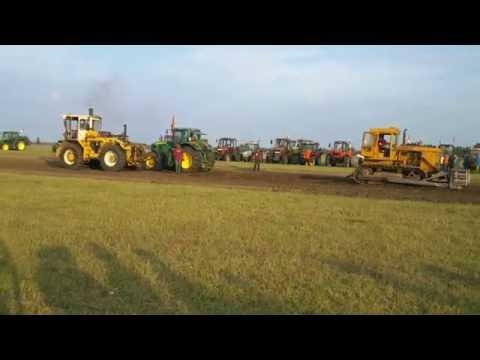 Ásotthalom Kissor, Traktorverseny 2016, John Deere vs. Rába 180