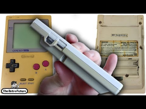 Let's Refurb! - Yellowed GameBoy Restoration (RetroBright)