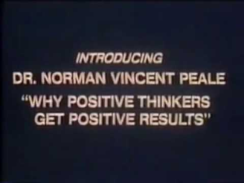 Norman Vincent Peale Classic Keynote About THE POWER OF POSITIVE THINKING