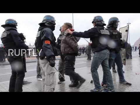 France: Mayhem in Lyon as 15,000 Yellow Vests hit the streets