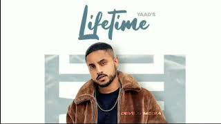 Gambar cover Lifetime (Official Song💥) Yaad ft. Karan Aujla | New punjabi Song 2020
