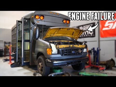 The Adventure Bus Is DEAD... (Complete Engine Failure)
