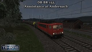 Train Simulator 2016 - Career Scenario - Cologne to Koblenz - Asssistance at Andernach Part 3