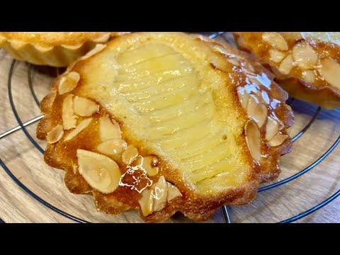 tartelettes-amandine-poires-amande:-recette-gourmande-!