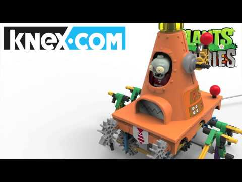 K'NEX Plants Vs Zombies Toys: Cone Mech Coming Soon!