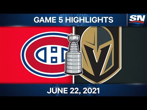NHL Game Highlights | Canadiens vs. Golden Knights, Game 5 - Jun. 22, 2021