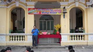 THCS Mạch Kiếm Hùng: Học sinh chúc tết thầy cô và các bạn nhân dịp xuân Mậu tuất 2018