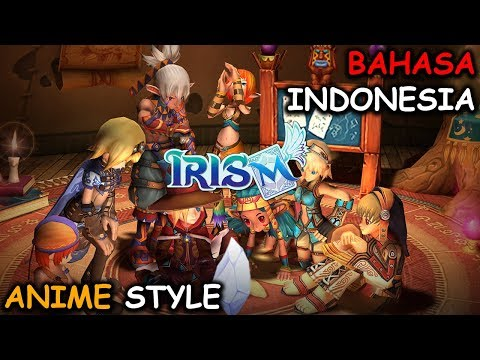Open World Dan Anime Style! | IRIS M [ID] Android MMORPG (Indonesia)
