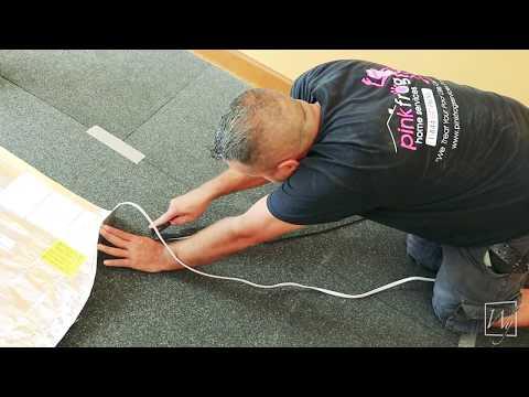 Installing Electric Floor Heating under Laminate Flooring