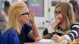 Lady Gaga SURPRISES Students As A Substitute Teacher For A Good Cause