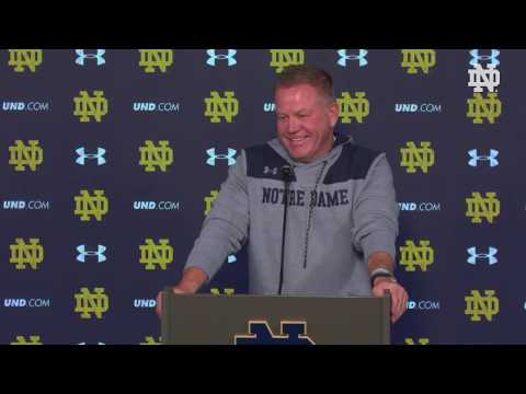 @NDFootball | Post Game Press Conference vs. Florida State (