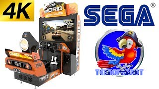 (Arcade) Race Driver GRID 4K 60fps Teknoparrot SEGA EUROPA-R on PC