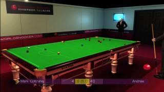 WSC Real Snooker 09 Underdog Achievement HD
