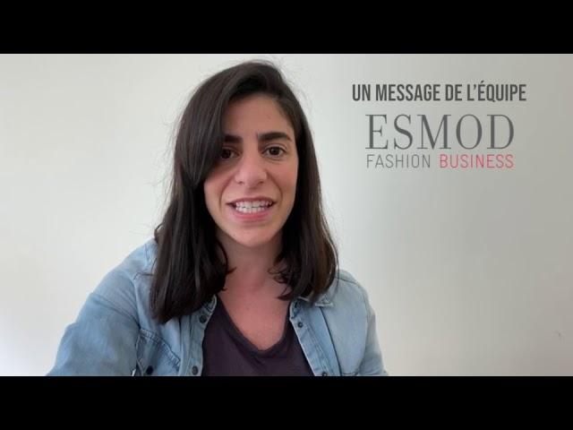 L'équipe ESMOD Fashion Business mobilisée pendant le confinement.