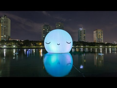 Lotte world tower Super Moon